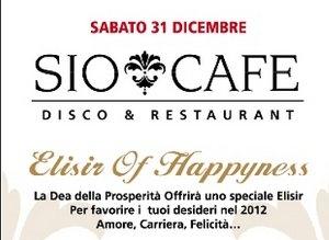 Capodanno sio cafe Milano