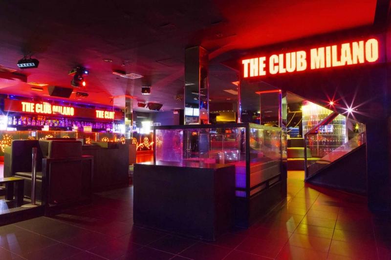 The club milano ristorante for Club evasion milano